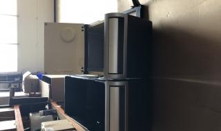 Casier réfrigérant (frigo) et casier de rangement